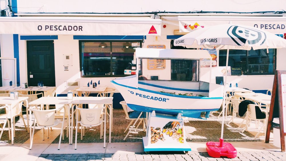 The perfect afternoon lunch spot |  Restaurant O Pescador
