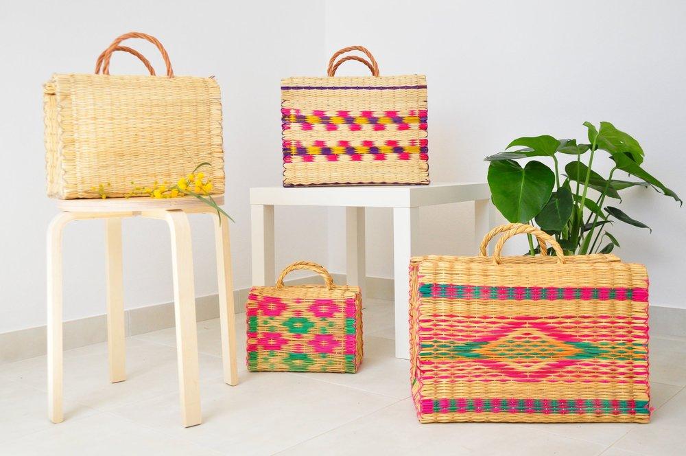 A Portuguese basket story. Handmade basket bags  | Soi 55